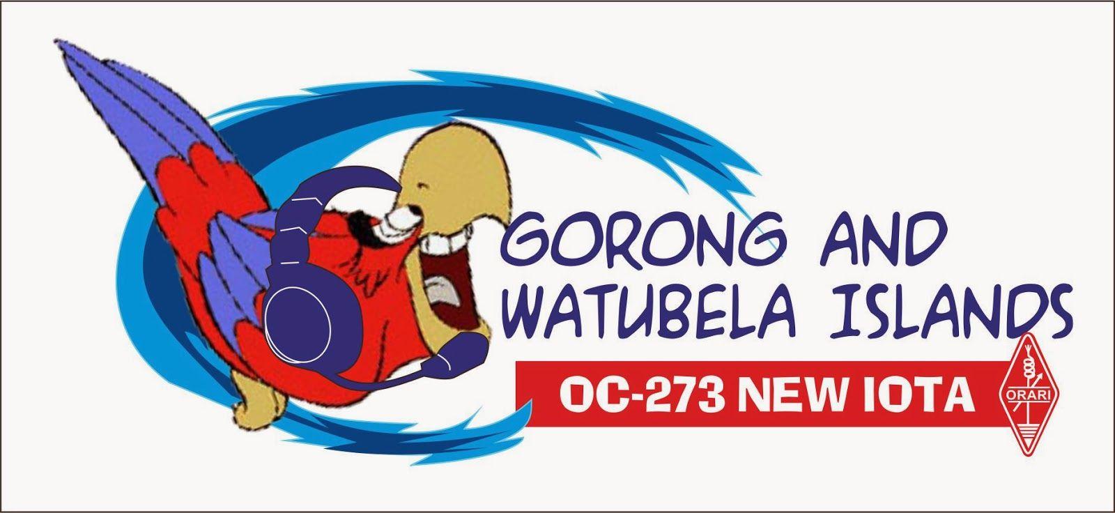 Gorong Archipelago Watubela Islands YF1AR/8 YB0AI/8