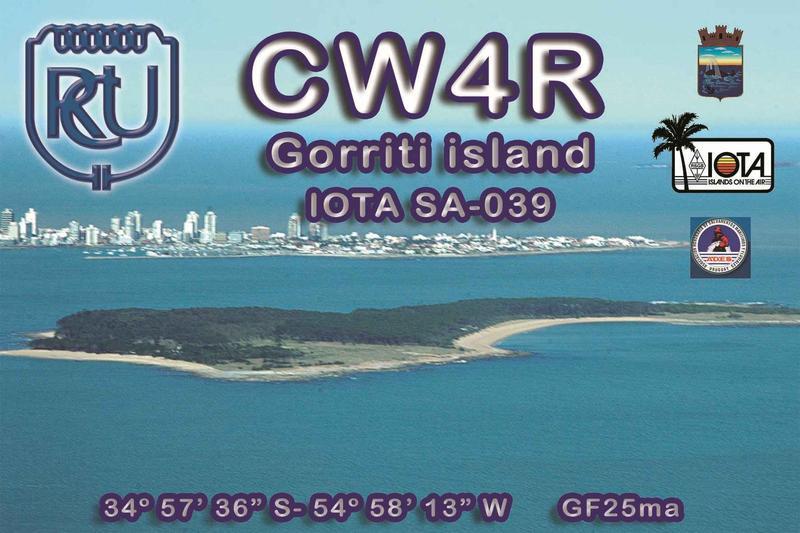 Остров Горрити CW4R Уругвай