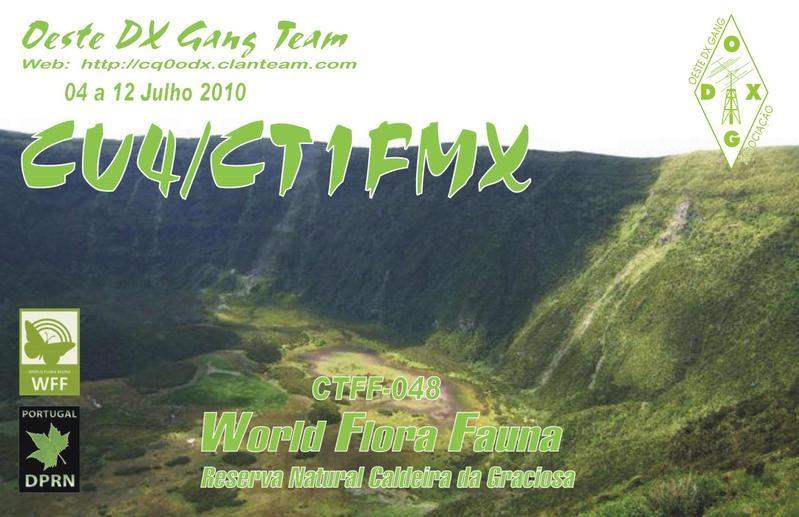 Graciosa Island CU4/CT1FMX