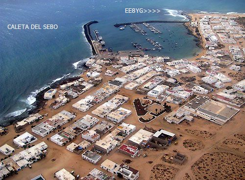 Graciosa Island Isla de la Graciosa Canary Islands EE8YG
