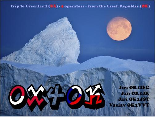 Гренландия OX4OK QSL