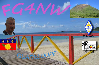 Guadeloupe Island TO0MT FG4NW