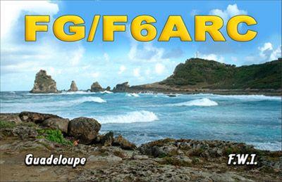 Остров Гваделупа FG/F6ARC