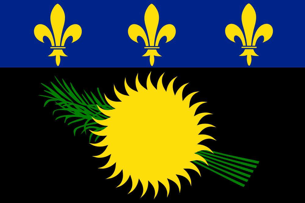 Гваделупа Флаг Гваделупы  TO6A