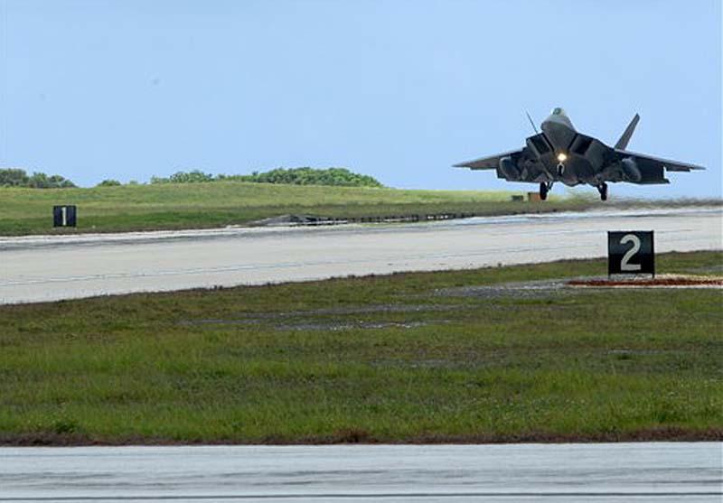 Guam Island Military Base