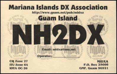Остров Гуам NH2DX