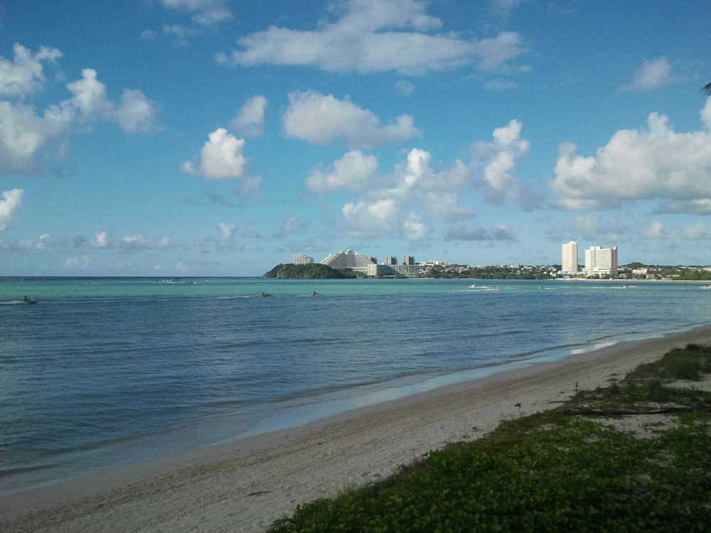 Остров Гуам W1AW/KH2