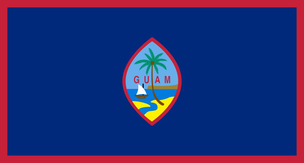 Гуам W1AW/KH2 Флаг