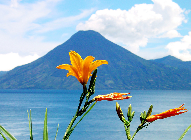 Гватемала TG7/NC2N Вулкан Атитлан Озера Атитлан