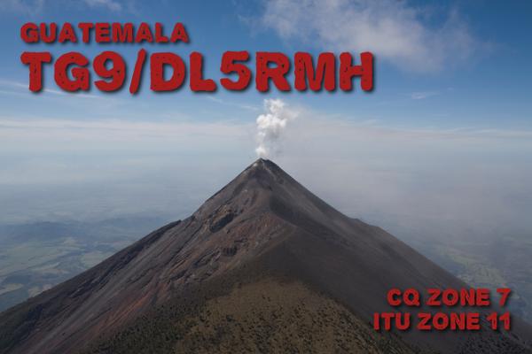 Guatemala TG9/DL5RMH QSL