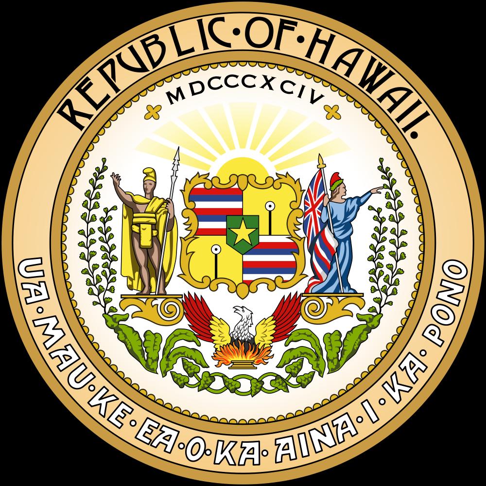 Hawaiian Islands Seal of Hawaii