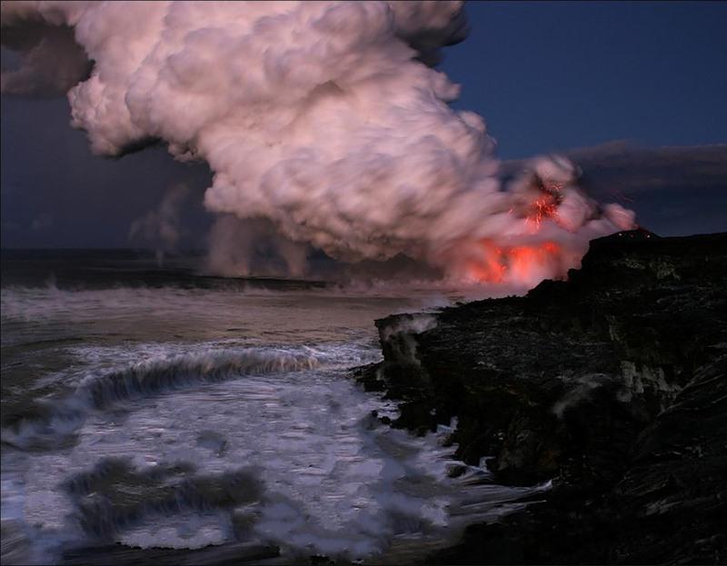 Гавайские Острова KH6LC N6TJ Вулкан DX Новости