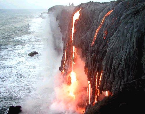 Гавайские Острова DX Новости Извержение Вулкана KH7CW