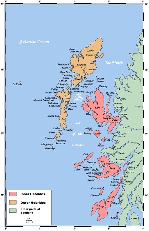 Outer Hebrides Islands