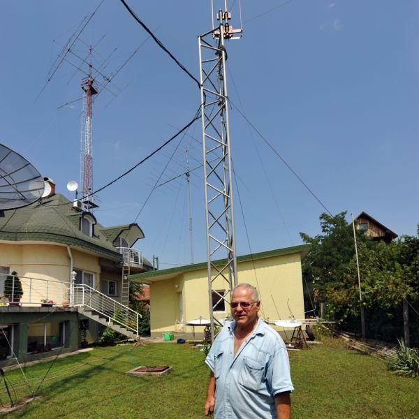 Hungary HA7RY Antenna towers