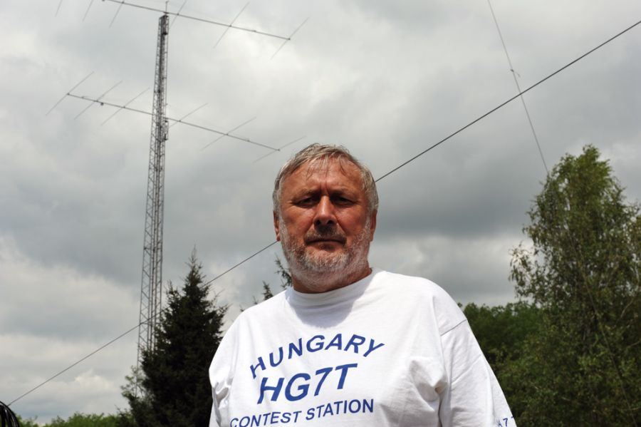 Hungary HA7TM HG7T 20m Stack