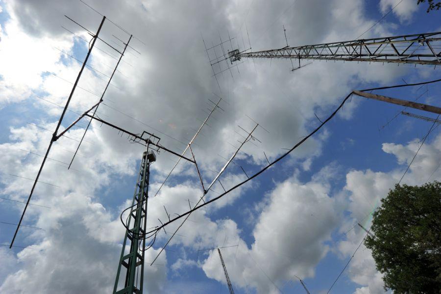 Hungary HG7T 2m Antennas