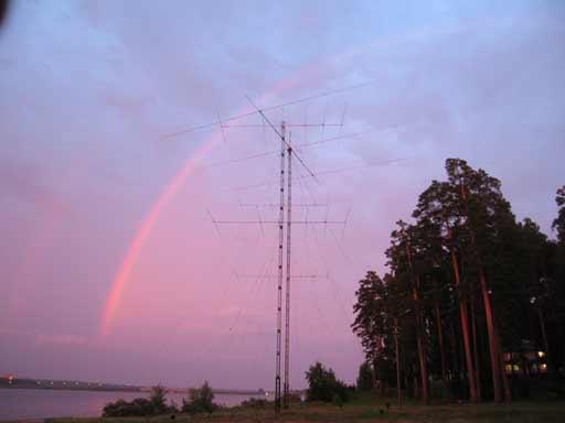 3 element full size yagi antenna on 80m