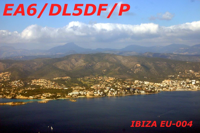 Ibiza Island Balearic Islands EA6/DL5DF
