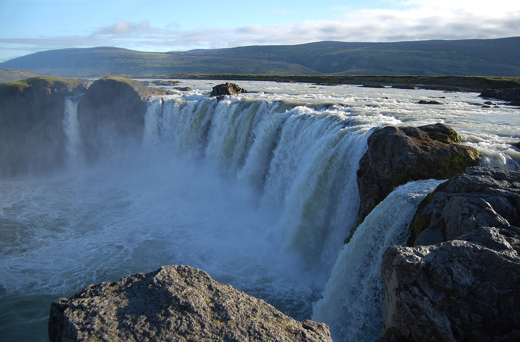 Исландия TF2TE Водопад