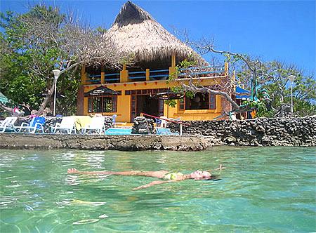 Остров Isla Del Pirata Колумбия HK0GU/1