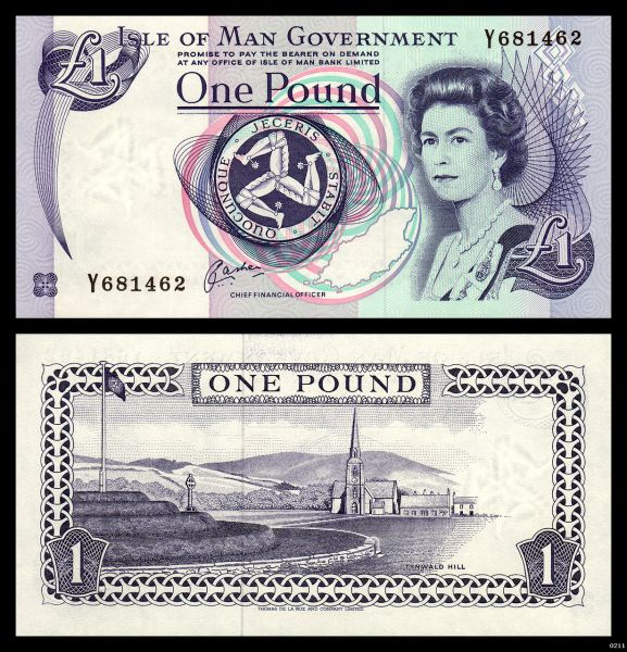 Isle of Man GT3ZME 1 Pound