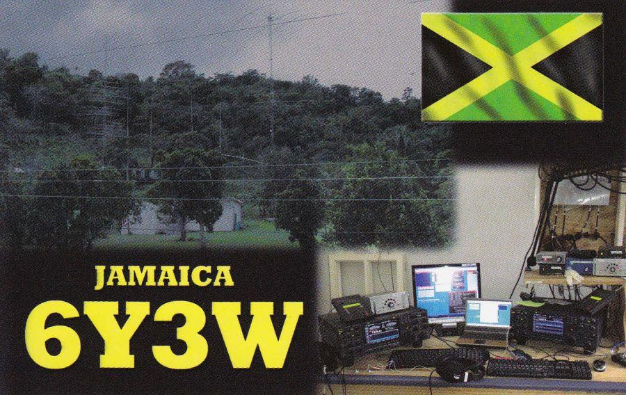 Jamaica 6Y3W QSL
