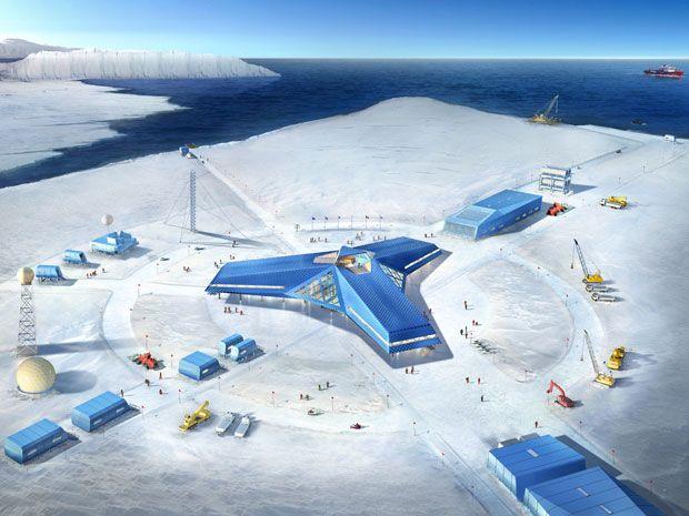 Станция Джанг Бобо Jang Bobo D8A Антарктида