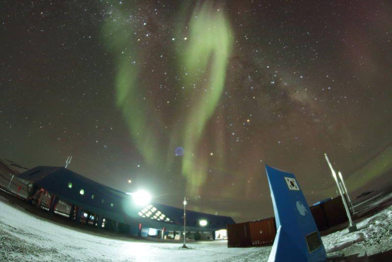 Jang Bogo Station Antarctica D8A DX News Picture