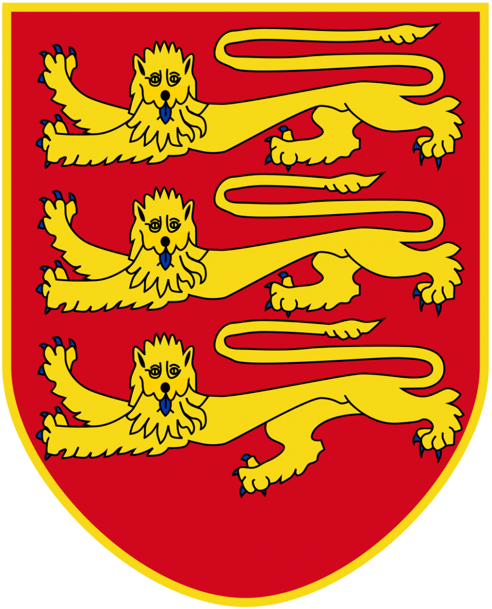 Jersey Island Coat of Arms of Jersey