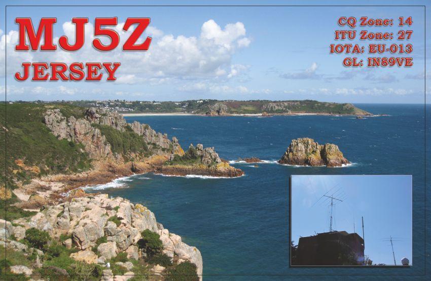 Jersey Island MJ5Z QSL