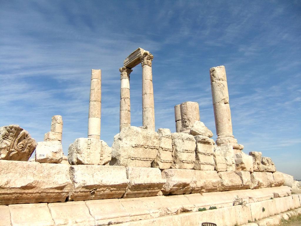 Иордания JY9FC Храм Геркулеса