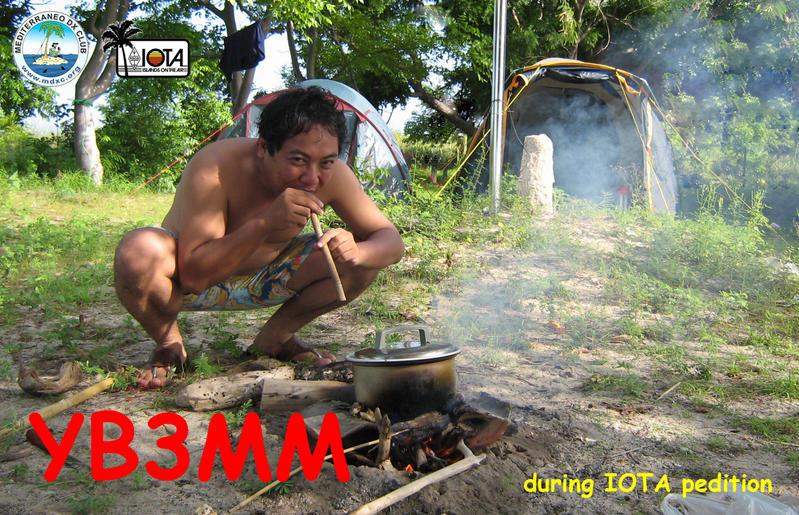 Karang Jamuang Island YB3MM/P