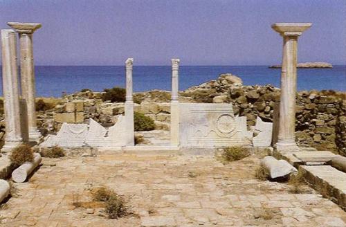 Карпатос Остров Античные Руины