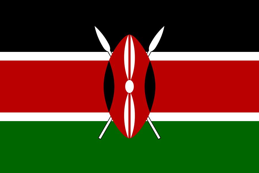 Kenya Flag of Kenya