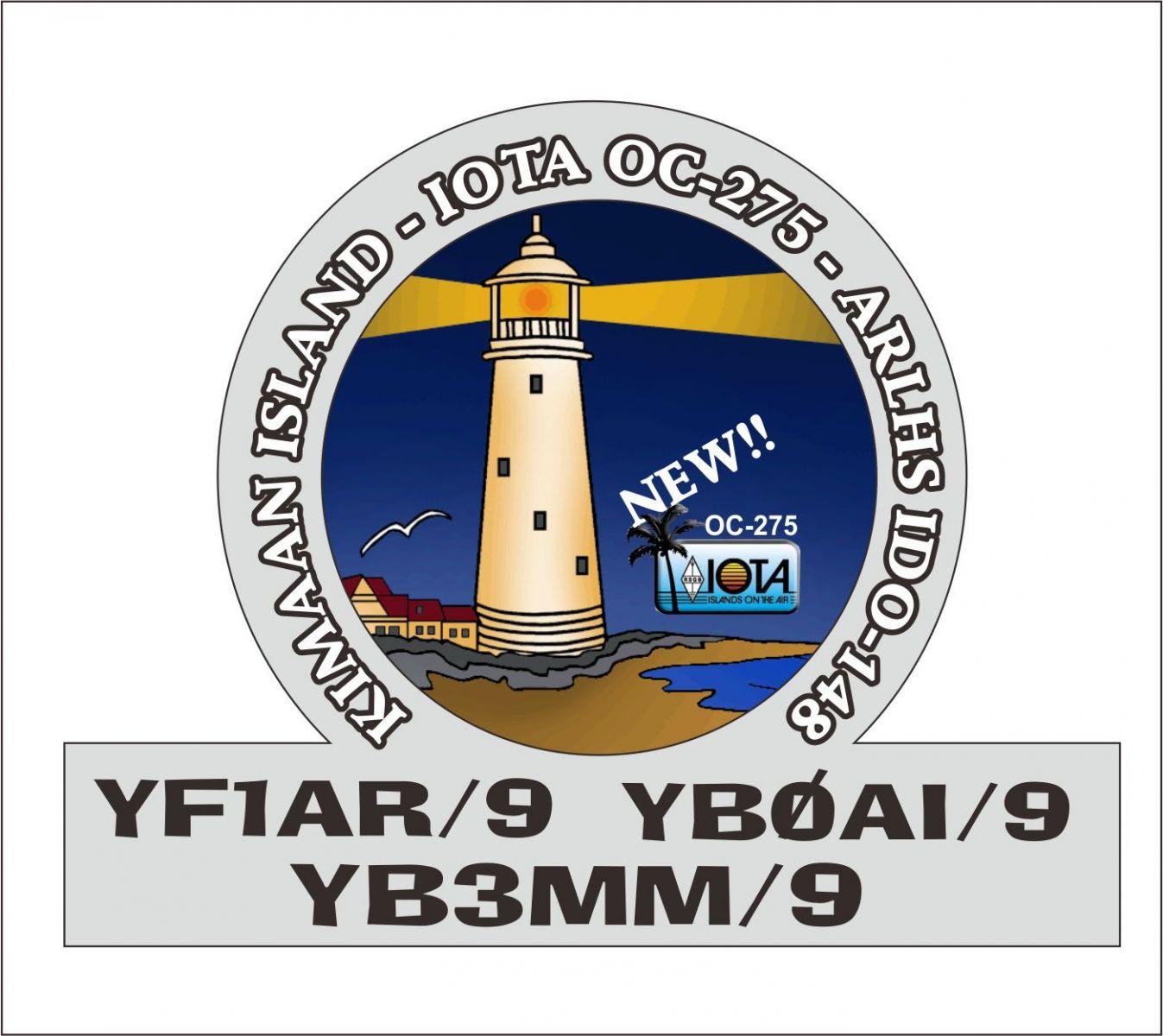 Kimaan Island YF1AR/9 YB0AI/9 YB3MM/9
