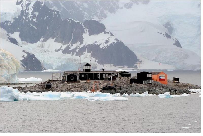 Остров Короля Георга База Президента Габриела Гонзалеза Видела Южно Шетландские Острова CE9VPM Антарктида