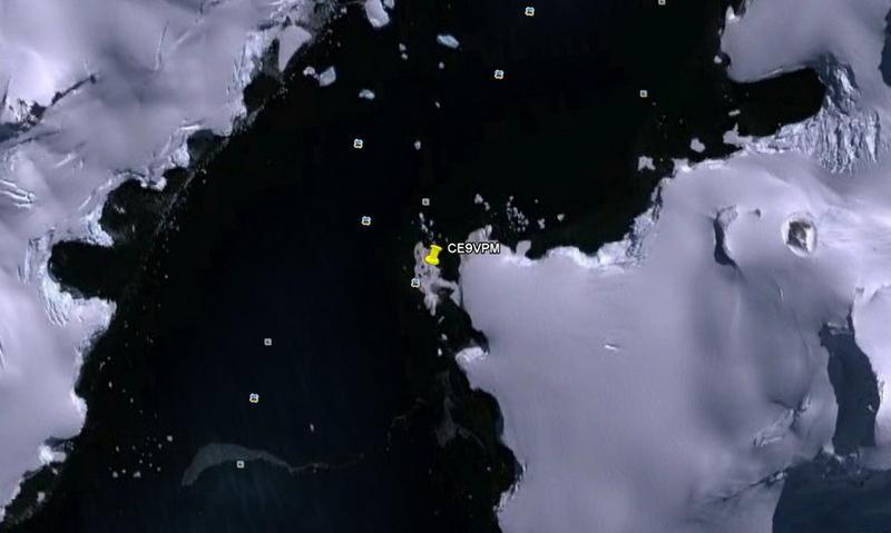 Остров Короля Георга Южно Шетландские Острова Антарктида CE9VPM