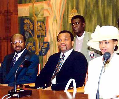 Король Свазиленда DX Новости 3DA0HC