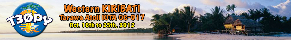 Kiribati T30PY DX News