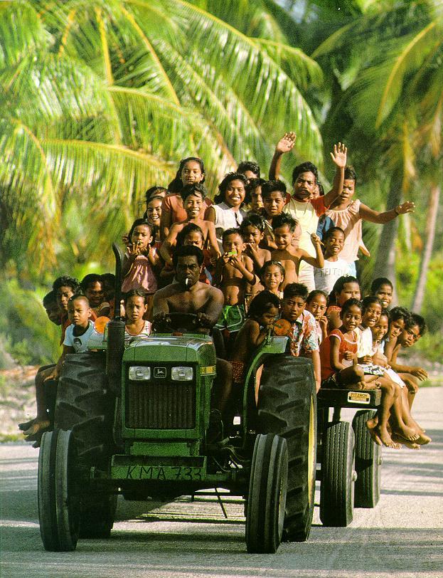 Остров Киритимати Рождества Кирибати