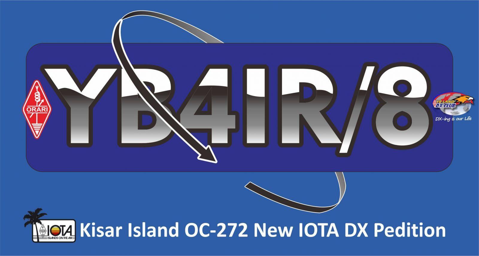Kisar Island YB4IR/8 QSL