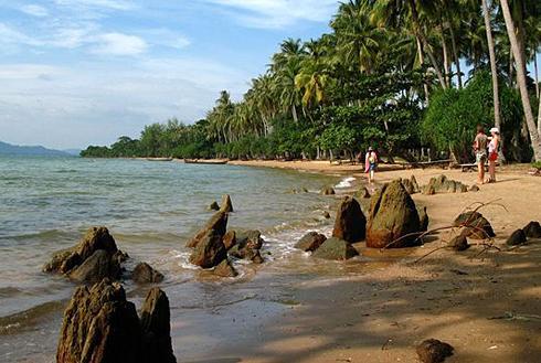 Остров Ко Руссей Бамбуковый Остров Камбоджа