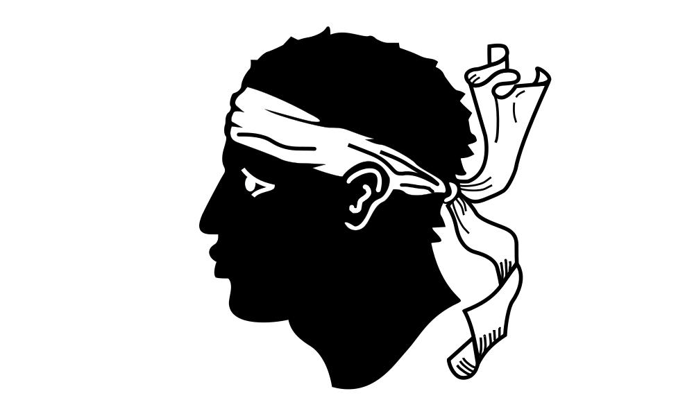 Корсика Флаг Корсики