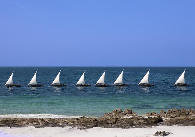Остров Лези Лагун Танзания 5H1HS/3