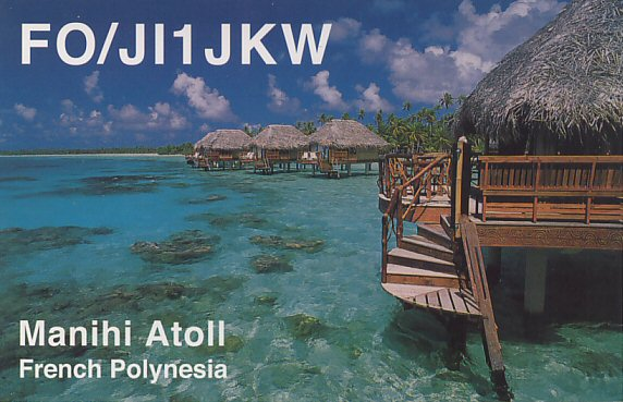Leeward Islands FO/JI1JKW French Polynesia DX News