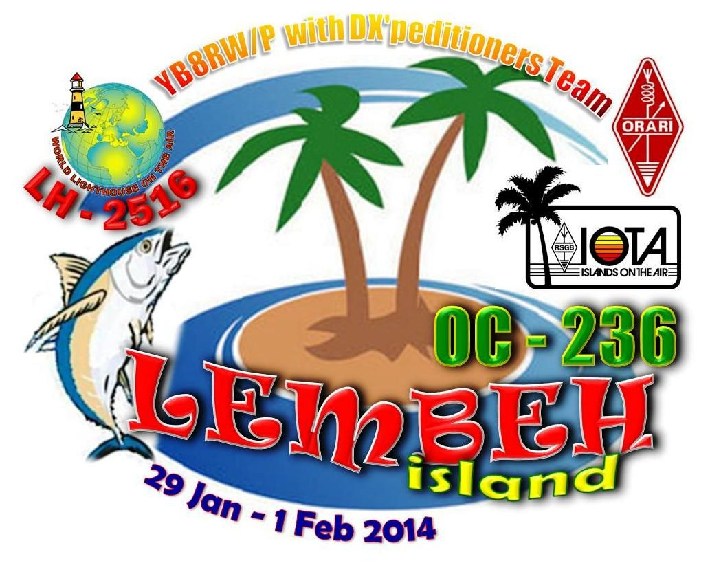 Lembeh Island YB8RW/P