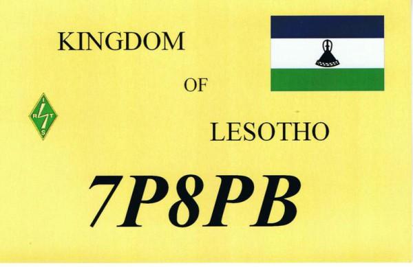 Lesotho 7P8PB