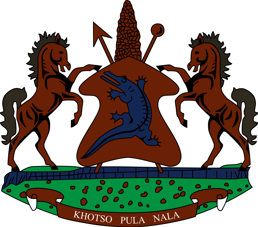 Lesotho Coat of Arms of Lesotho