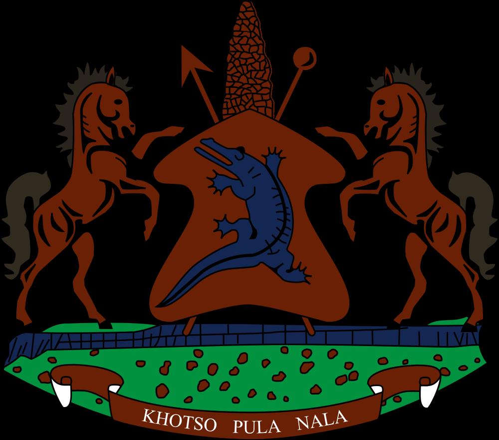 Лесото Герб Лесото
